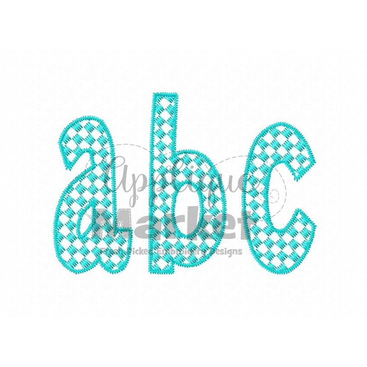 Proudly accent your initials with this Henry Checkered Pattern Fill Alphabet. At Applique Market, we have an extensive selection of embroidery fonts an monograms.