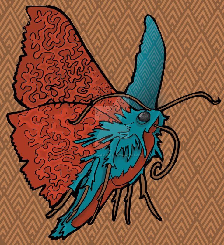The Moth  by MatthewDHoffman on @DeviantArt