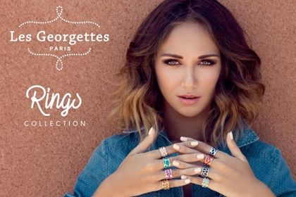 Gorgeous Les Georgettes rings