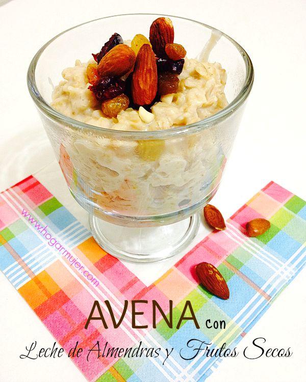 Deliciosa Avena para un desayuno saludable #recetas #desayuno #saludable