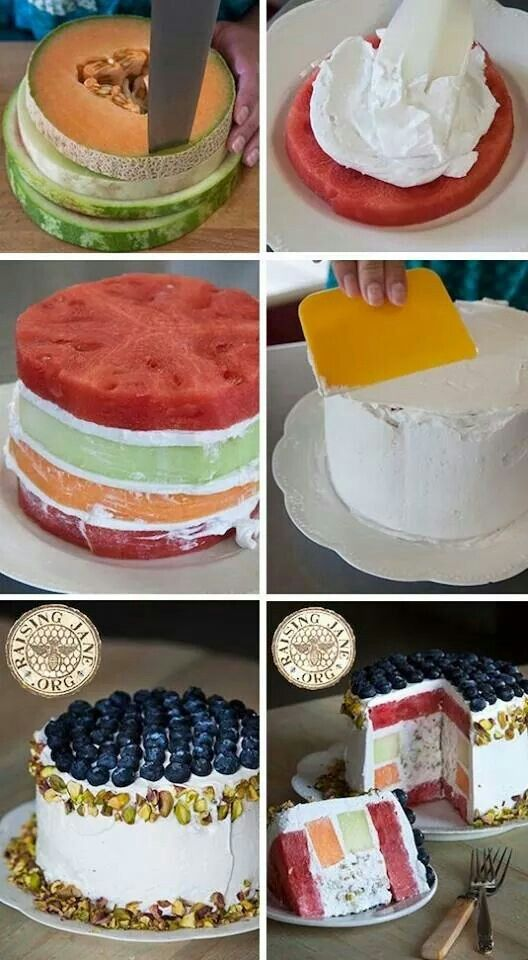 Pistachio Melon Cake http://www.raisingjane.org/journal/40245