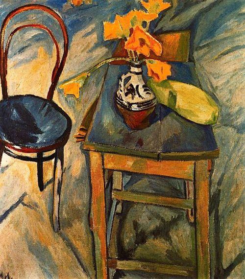 bofransson:  Mikhail Larionov - Bouquet aux Fleurs Jaunes, 1907