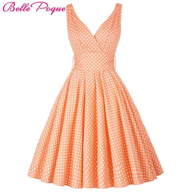 Cheap cotton figure, Buy Quality cotton black dress directly from China cotton beach wedding dress Suppliers: Womens Summer Dresses 2016 Summer Plus Size Maggie Tang 50s Vintage Retro Robe Vestidos Pin Up Swing Polka Dot Rockabilly Dress