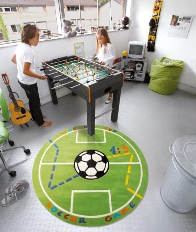 Super Voetbal Vloerkleed Kinderkamer &OM01 – Aboriginaltourismontario &UM01