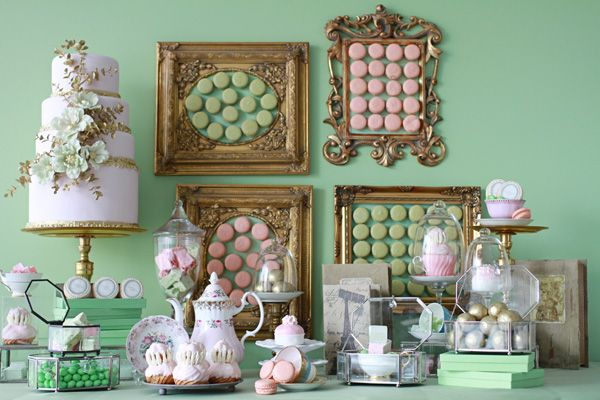 Laduree inspired shoot...very french; perfect for Marie Antoinette!