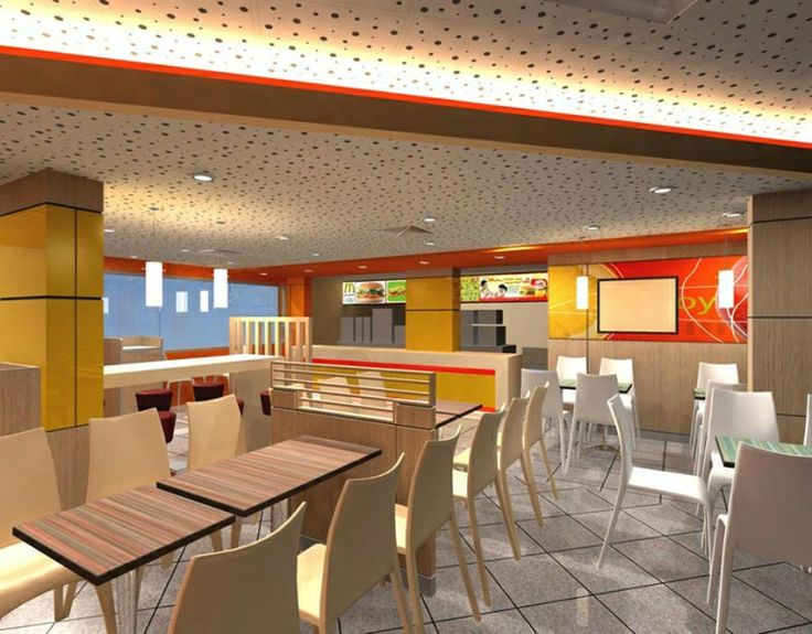 Interior Design For Singapore Commercial Space McDonalds Outlet The Designers Concept Drawing Renovation Expectations
