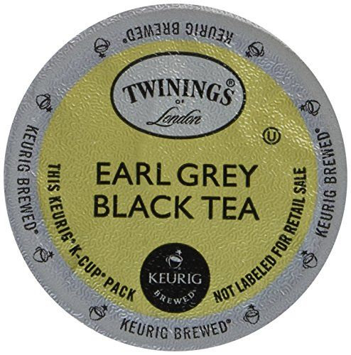 Great Twinings Earl Grey Tea, 24 Count (Pack of 2), ,