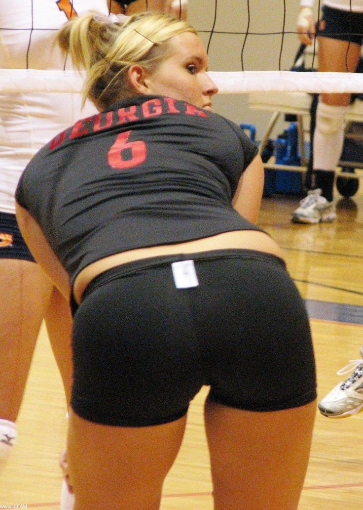 Volleyball shorts nude women
