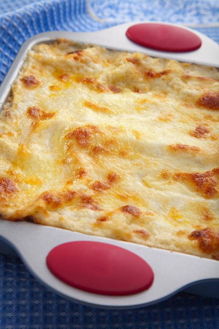 Lasagne rosée aux trois fromages - Recettes du Québec