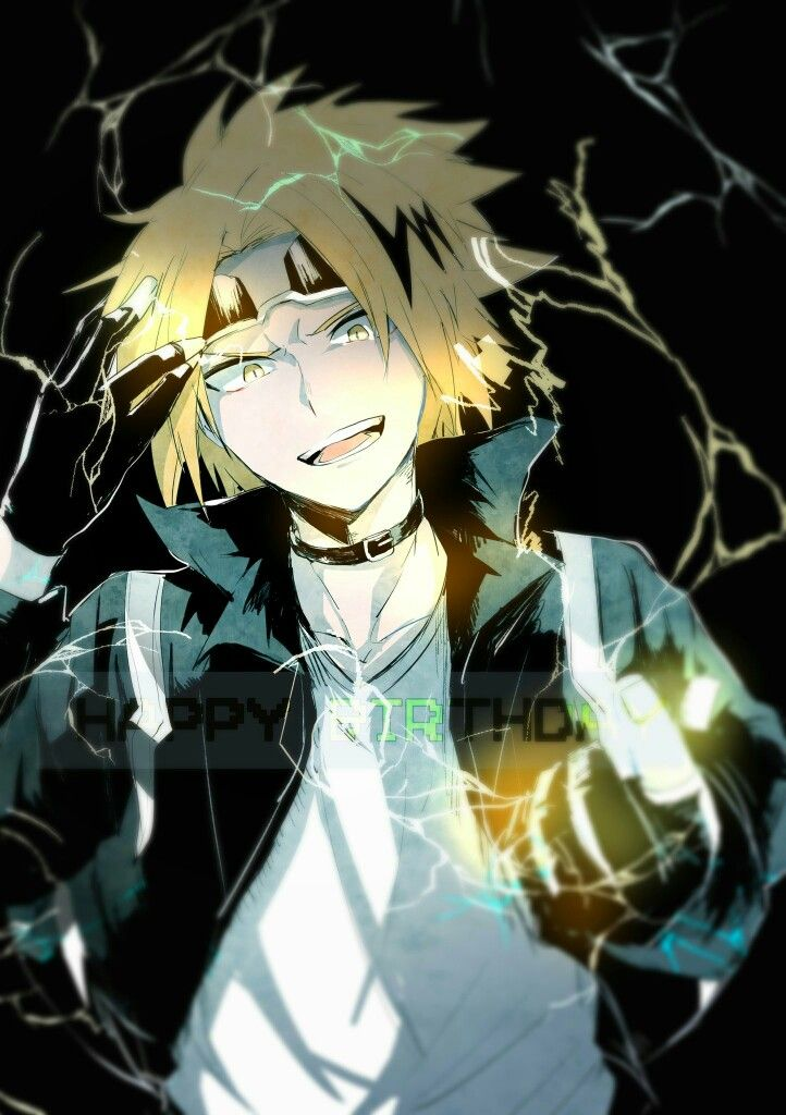Kaminari Denki | Boku no hero academia | | Anime | My hero academia