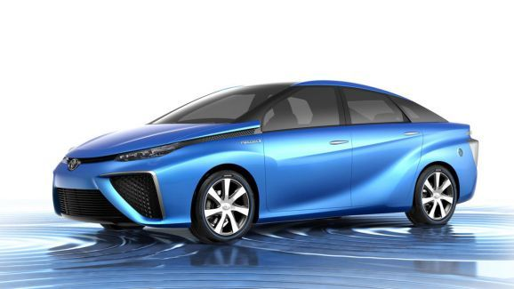The future is here! Toyota's hydrogen-powered cars are go for 2015. -Tara