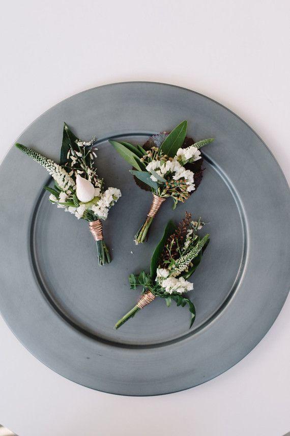 Copper + green industrial modern wedding inspiration                                                                                                                                                     More