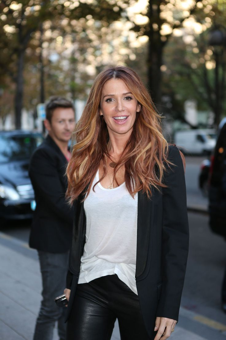 Poppy Montomery 2012 France Leather Pants | Poppy Montgomery Archives - HawtCelebs - HawtCelebs