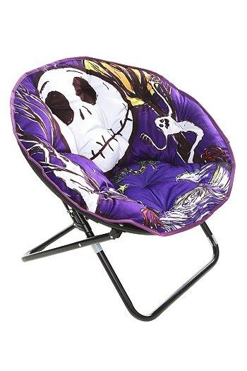 I found 'The Nightmare Before Christmas Jack Saucer Chair | Nightmare Before Christmas Boutqiue' on Wish, check it out!