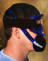 Dust Mask, most advanced patented design for maximum air flow.