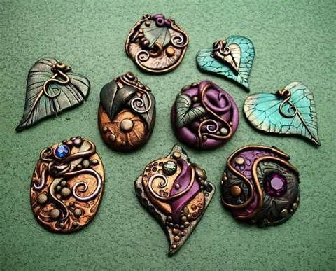 Polymer Clay Jewelry - Bing Images THE MOST SPECTATULAR GROUP OF POLOYMER JEWELRY I HAVE EVER SEEN. THERE MAY BE A CHANCE OF USING THE URL'S TO FIND A TUTORIAL.