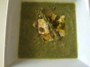 Healthy Spring Pea Soup