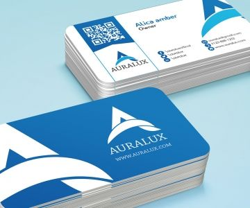 86 best business card designs in dubai images on pinterest name auralux reheart Image collections