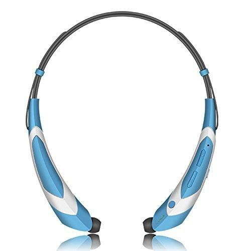 Wireless Bluetooth 4.1 Music Stereo Sports/Running Neckband Style Headset for Cellphone Red