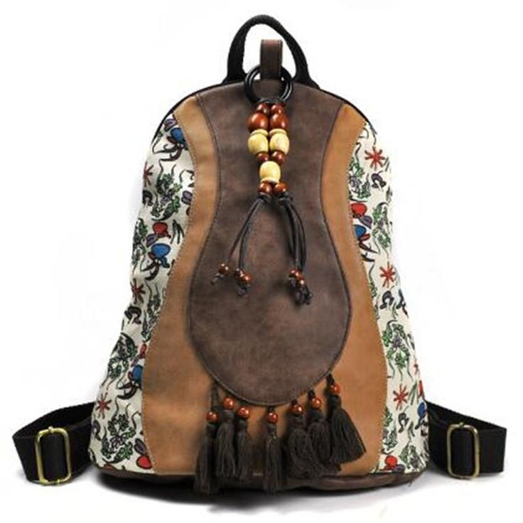 Casual Backpack Mallory – Floral Cat