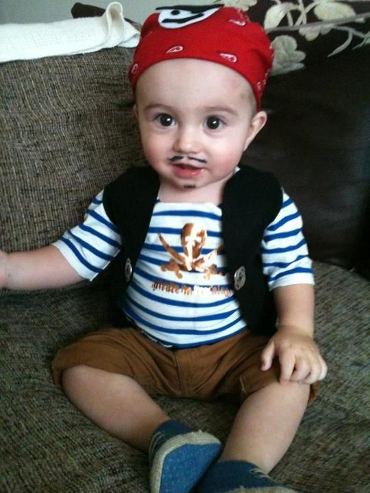 Image result for baby pirate costume