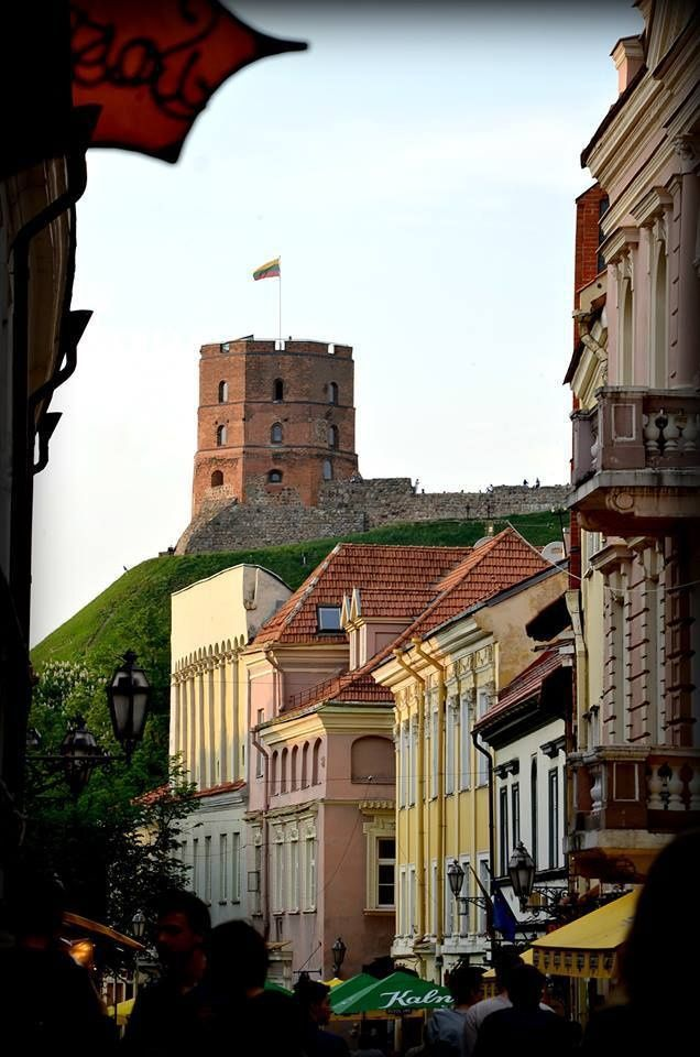 Vilnius - la tour de Gediminas