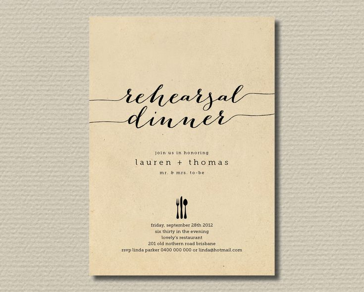 Rehearsal Dinner Invitation Wording | Related Pictures Classy Christmas  Dinner Party Invitation Wedding ... Einladung Zum Abendessen ...