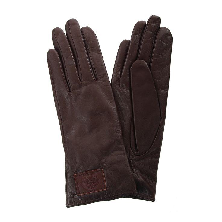 LA MARTINA Damen Leder Handschuhe