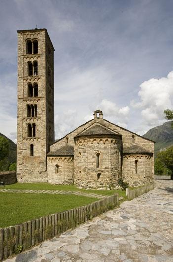 Sant Climent de Taüll, Catalonia. Spain.-