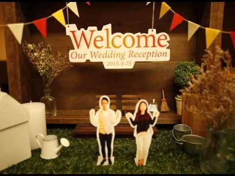 takatoshi&asako 【結婚 プロフィールムービー =HOME=】 ストップモーション - YouTube