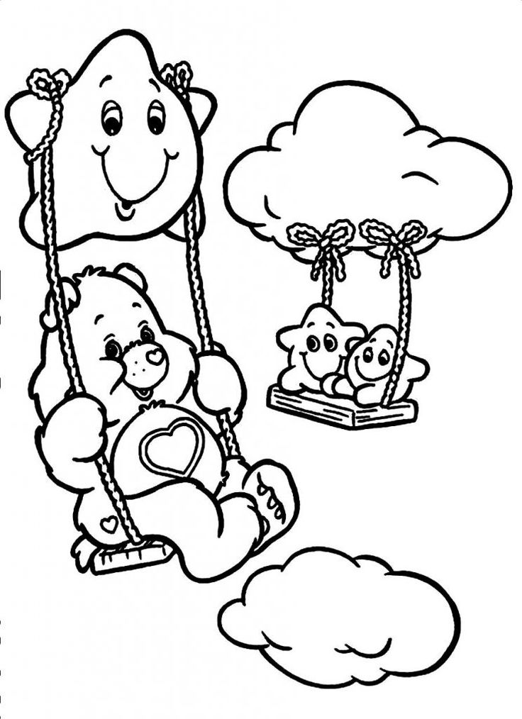 Care Bear Coloring Pages to Print