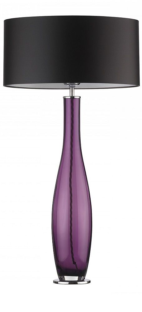 The purple wouldn't work for our decor but if the glass was lightly tinted black......InStyle-Decor.com
