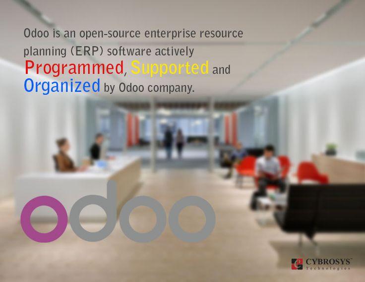 Now it is being used by 2 million users worldwide to manage companies of all size.  The software is actively programmed, supported, and organized by OpenERP. Odoo is similar to many open source projects where customized programming, support, and other services are also provided by an active global community and a network of 500 official partners.