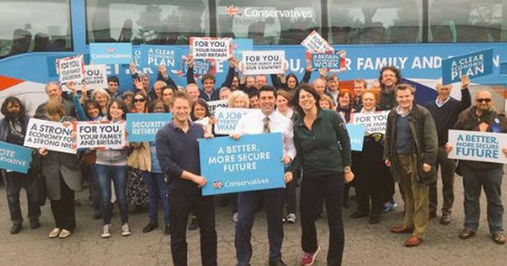 Anyone think anything will be done ? No me neither. Scott Mann and Alex Chalk MPs are being investigated over allegations they received help from the controversial Tory party battlebus