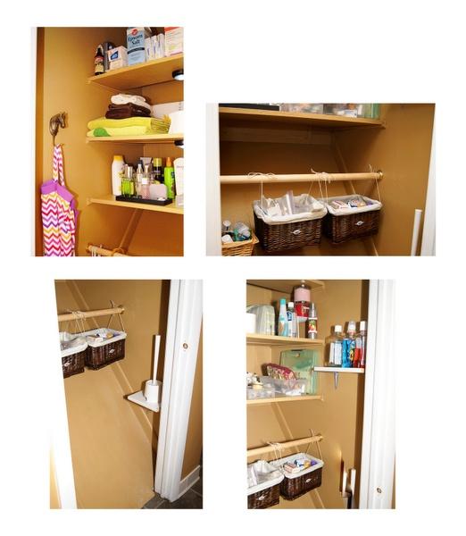 Closet Bathroom Ideas: Bathroom Closet Organizing Ideas