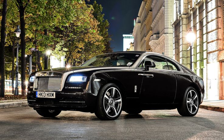 From one original RR to another Rolls Royce has always been the car of my dreams and this Wraith just goes to show you why...This BITCH is ROCKIN' so ALWAYS bet on BLACK! The Rolls Royce Wraith 2016 top luxury cars.....RR
