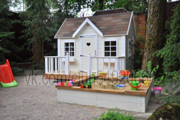 Наши работы. | Детские игровые домики. | ВКонтакте