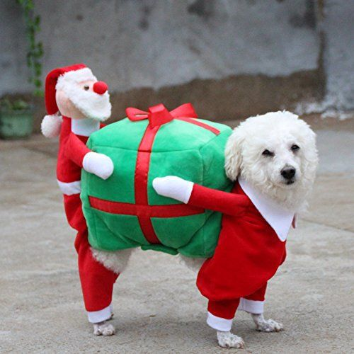 """Funny Personalized Dog Clothes, Unique design makes your pet different from others, Snap a Selfie of Your pets… Each Month We Pick a New Star! Let your dog become the most dazzling star in our page.       Famous Words of Inspiration...""""Informed decision-making comes... more details available at https://perfect-gifts.bestselleroutlets.com/gifts-for-pets/for-cats/product-review-for-new-christmas-gift-fancy-jumpsuit-puppy-costume-for-small-dogs-exclusi"""