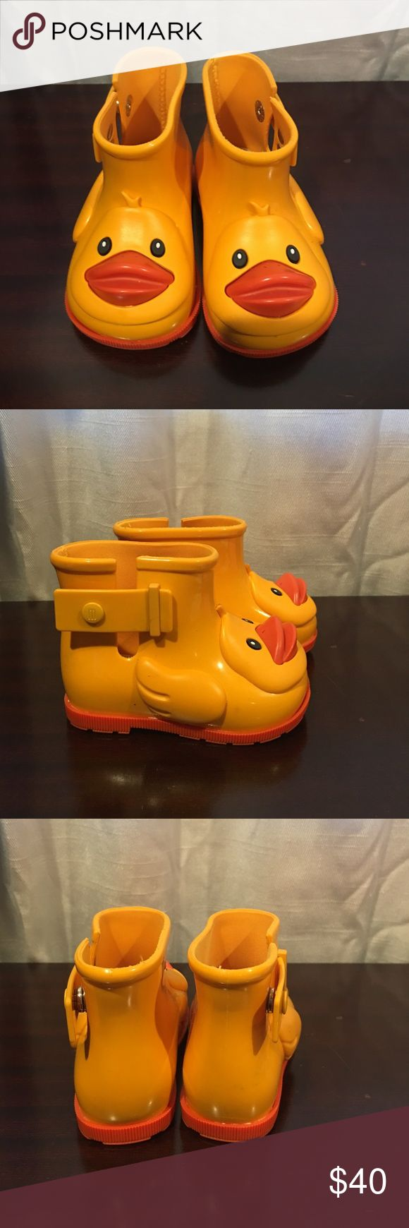 Mini Melissa Duck Rubber Boots Brand New and Never Been Worn Mini Melissa Duck Boots. Mini Melissa Shoes Rain & Snow Boots