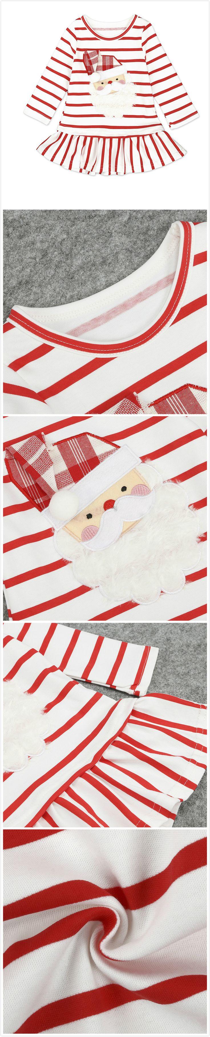 Baby Toddler's Girl Christmas Santa Dress
