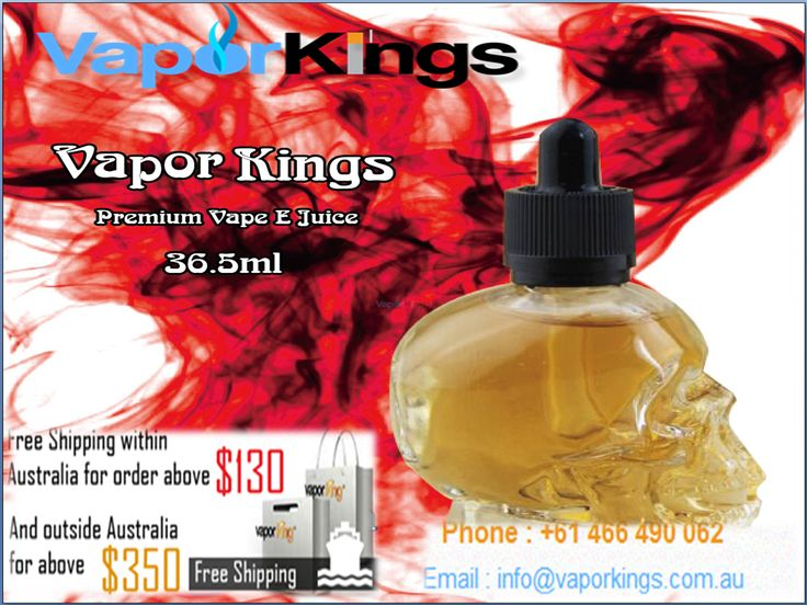 If you are looking forward to buying electronic cigarettes in Australia, visit Vapor Kings, an Australia-based online store, to avail the best deals on your purchases. We exist as an online store and let our customers buy electronic cigarettes while sitting in the comfort of their home.