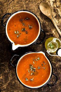 Tomatensuppe selber machen l Einfaches Rezept zum Nachmachen