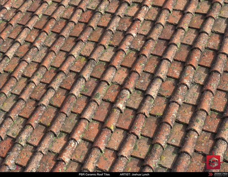 Good PBR Procedural Ceramic Roof Tiles Material Study 02, Joshua Lynch On  ArtStation At Https: