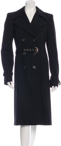 Gucci Wool Trench Coat