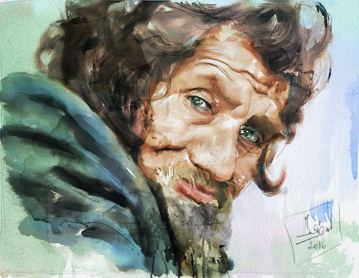 https://flic.kr/p/QRy8im | Portrait of emotion | Mixed media - Giclée - Paper - 56x43 cm By: Zsigmond István - Hungary - 2016