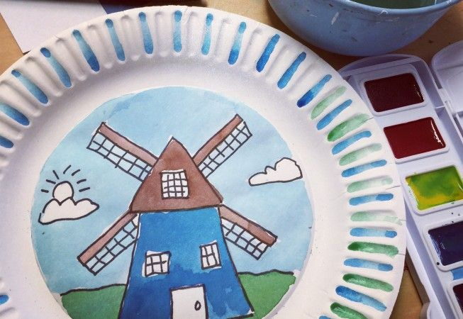 Dutch Windmills – Art Projects for Kids