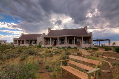 Dramatic Sky at Karoo View Cottages