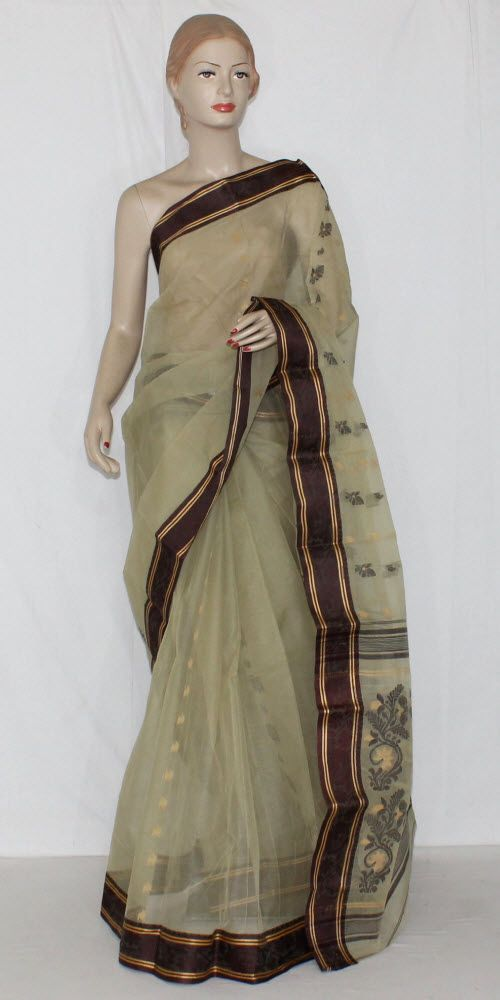 Pista Green Handwoven Bengali Tant Cotton Saree (Without Blouse) 14178 , Buy Casual Tant Sarees online, Pure Casual Tant Sarees, Trendy Casual Tant Sarees , , online shopping india, sarees , sweets, cameras, shoes, watches, appliances, apparel, sweets online in india | www.maanacreation.com