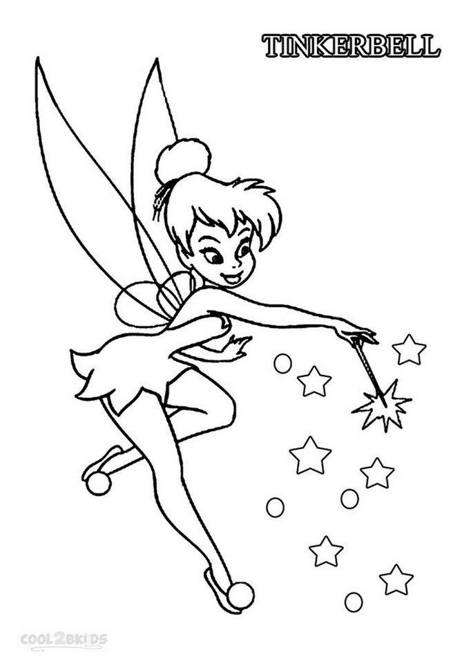 Tinkerbell Coloring Pages | Fairy coloring pages, Tinkerbell ... | 970x669