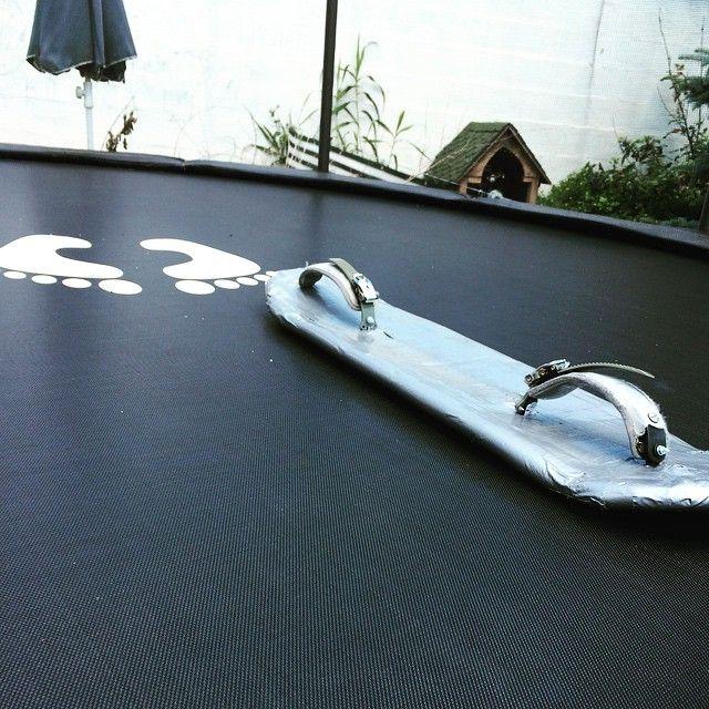 Hétvégi Projekt #DIY #custom #trampoline #board #practice